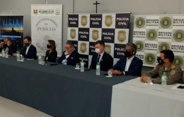 Governo do RS anuncia envio de legistas e peritos para Uruguaiana