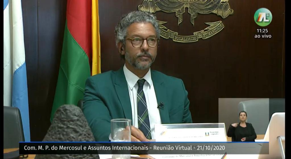 COMISSÃO DO MERCOSUL PROMOVE ENCONTRO INÉDITO PARA DEBATER SITUAÇÃO DA FRONTEIRA NA PANDEMIA