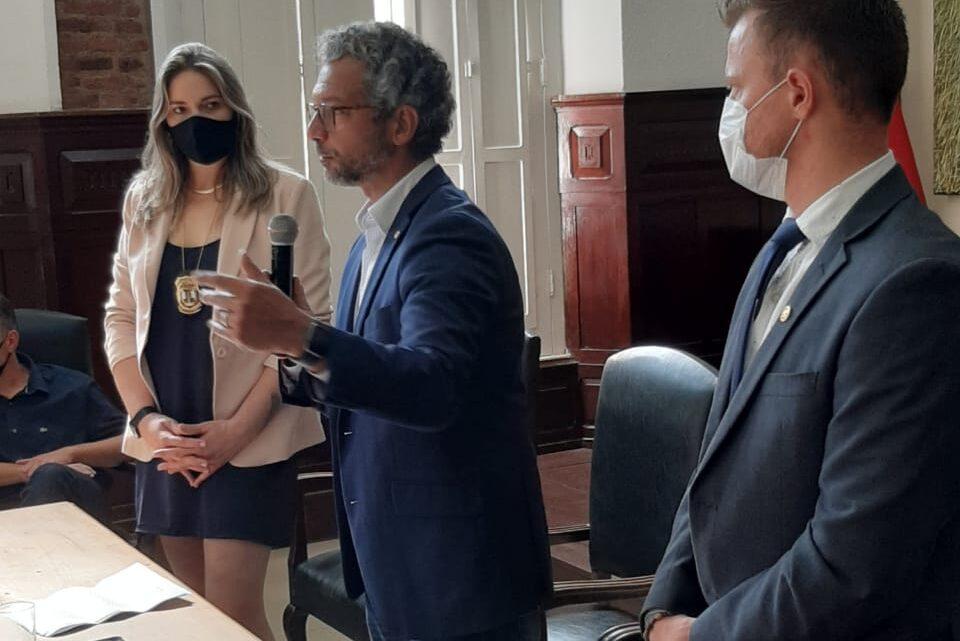 MÉDICOS E PERÍTOS SÃO APRESENTADOS PELO INSTITUTO GERAL DE PERÍCIAS À URUGUAIANA