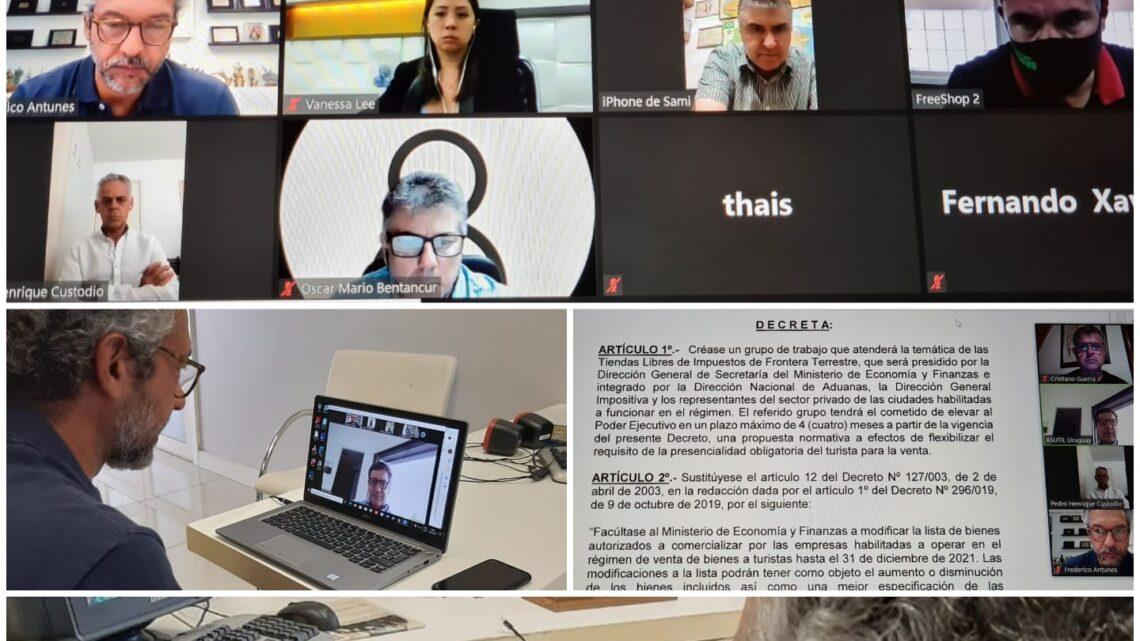 ASUTIL – REUNIÃO COM OPERADORES DE FREE SHOPS EM CIDADES GÊMEAS DE FRONTEIRA