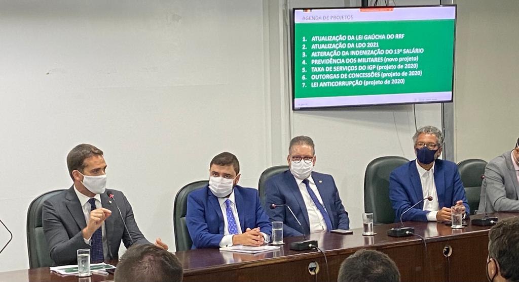 GOVERNADOR APRESENTA AO PARLAMENTO A AGENDA LEGISLATIVA DO EXECUTIVO PARA O INÍCIO DE 2021