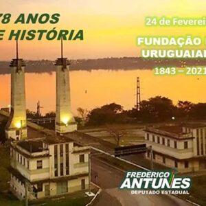 Uruguaiana 178 anos