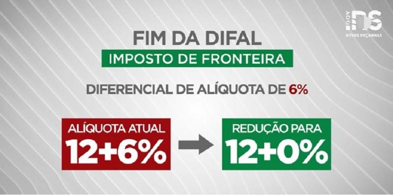 FIM DO DIFAL NO RS – DEPUTADO FREDERICO ANTUNES – VÍDEO