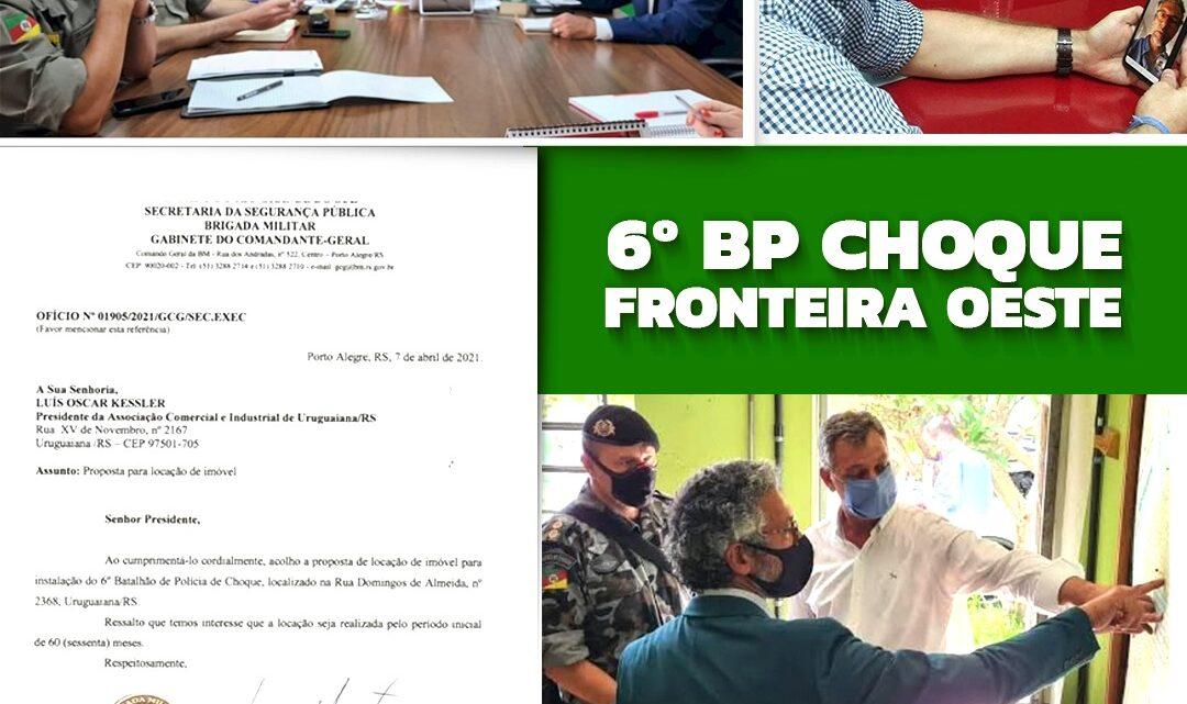 6º BP CHOQUE FRONTEIRA OESTE