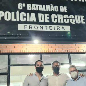 INAUGURADO 6º BPCHOQUE FRONTEIRA, EM URUGUAIANA