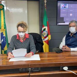 FREDERICO INTEGRA COMISSÃO QUE ACOMPANHA INVESTIGAÇÕES SOBRE O INCÊNDIO NA SSP-RS