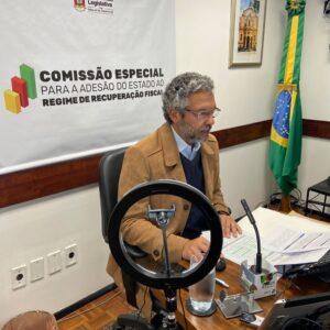 COMISSÃO QUE TRATA DA ADESÃO DO RS AO REGIME DE RECUPERAÇÃO FISCAL APROVA RELATÓRIO FINAL