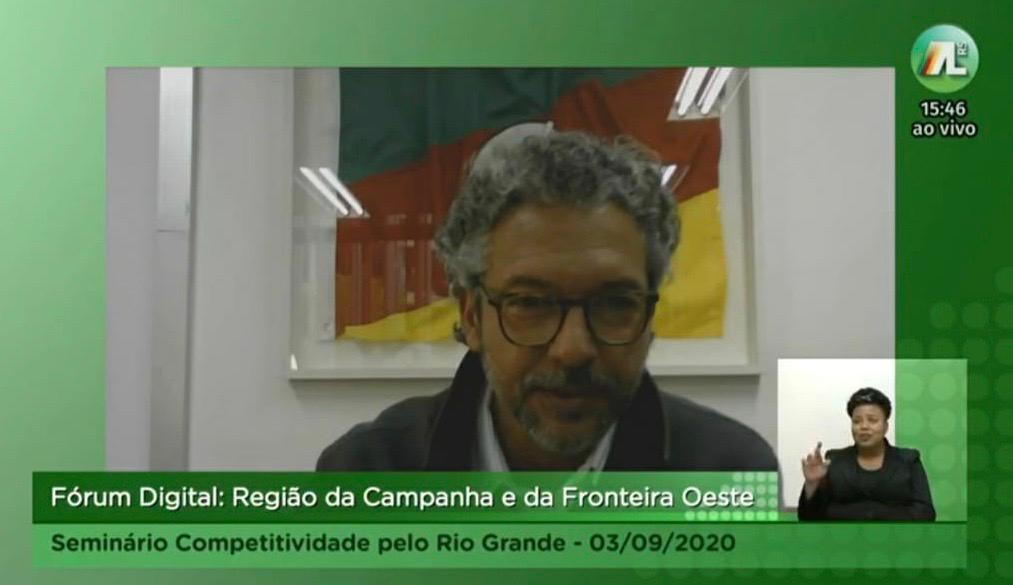 FREDERICO ANTUNES PARTICIPA DE SEMINÁRIO DE COMPETITIVIDADE QUE DEBATEU QUESTÕES DA FRONTEIRA DO RS