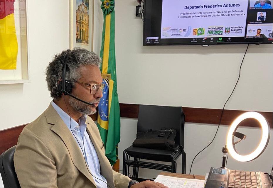 FREDERICO ANTUNES PARTICIPA DE SEMINÁRIO INTERNACIONAL DOS FREE SHOPS PROMOVIDO POR BRASIL E URUGUAI