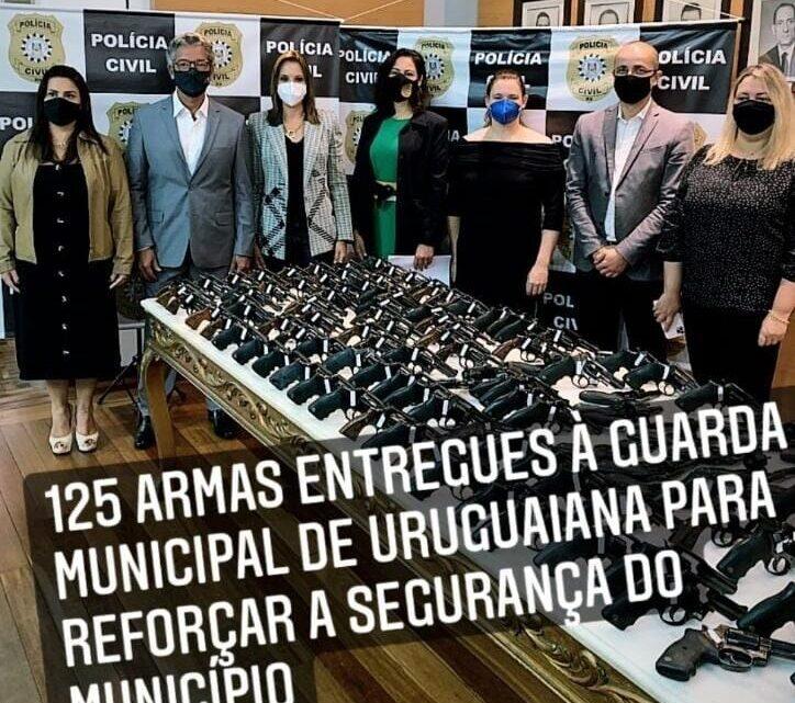 Importante conquista para a valorosa Guarda Municipal de Uruguaiana.