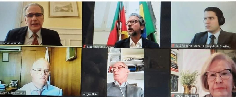 Prioridade para hidrovia Brasil-Uruguai é debatida por autoridades do Uruguai e Rio Grande do Sul