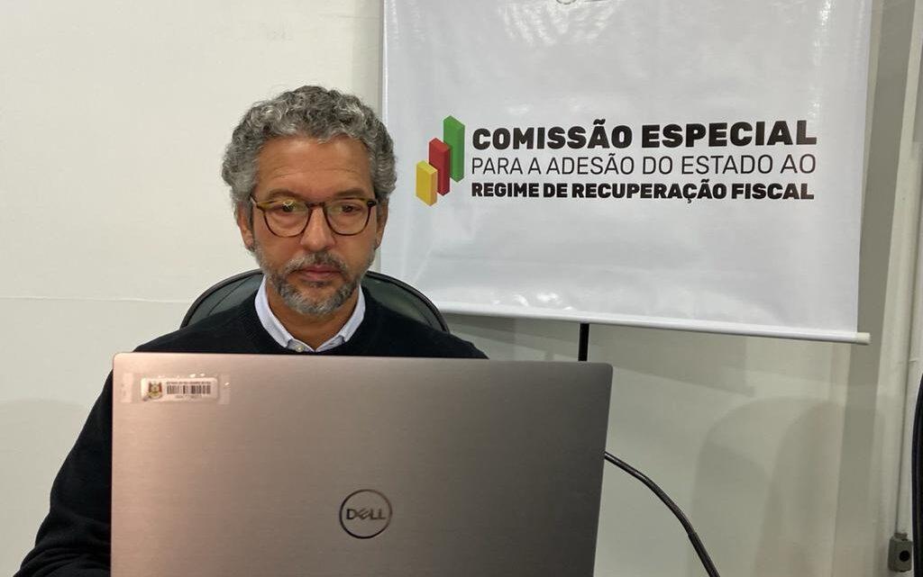 ADESÃO AO RRF: COMISSÃO RECEBE SUBSECRETÁRIO DO TESOURO ESTADUAL