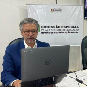 COMISSÃO DA ADESÃO AO REGIME DE RECUPERAÇÃO FISCAL