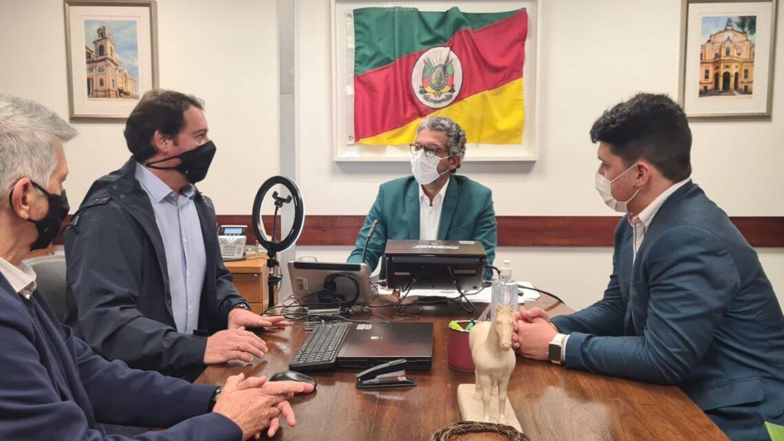 FREDERICO ANTUNES ENCAMINHA PEDIDO PARA A EXCLUSÃO DE LIVRAMENTO DO CADIN