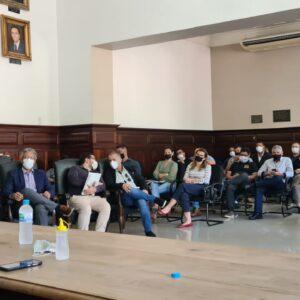 Diretores do BRDE apresentam programas de desenvolvimento a municípios da Fronteira Oeste